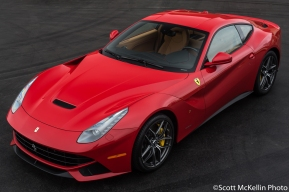 Red F12 Front 3/4