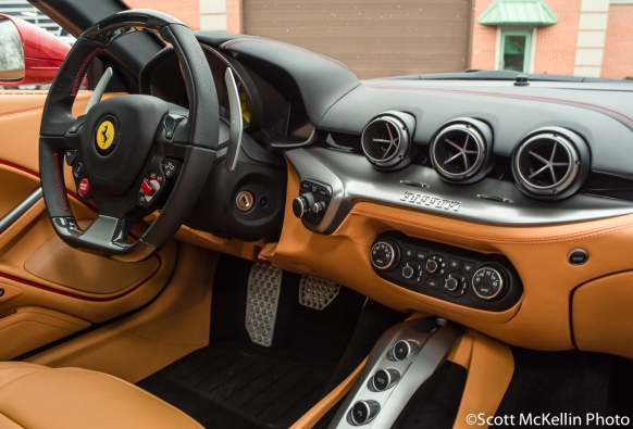 Red F12 Right Dashboard