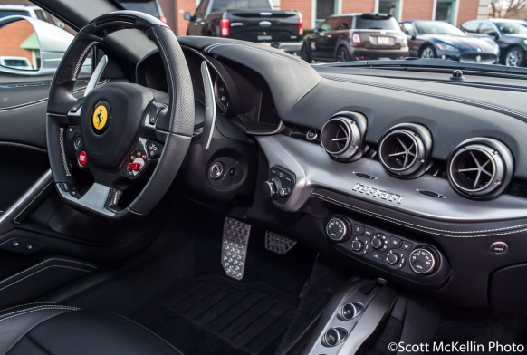 Silver F12 Right Dashboard